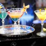 Colorful Cocktails In Restaurant Bar Counter Stock Photo Picture And Royalty Free Image Image 122371427