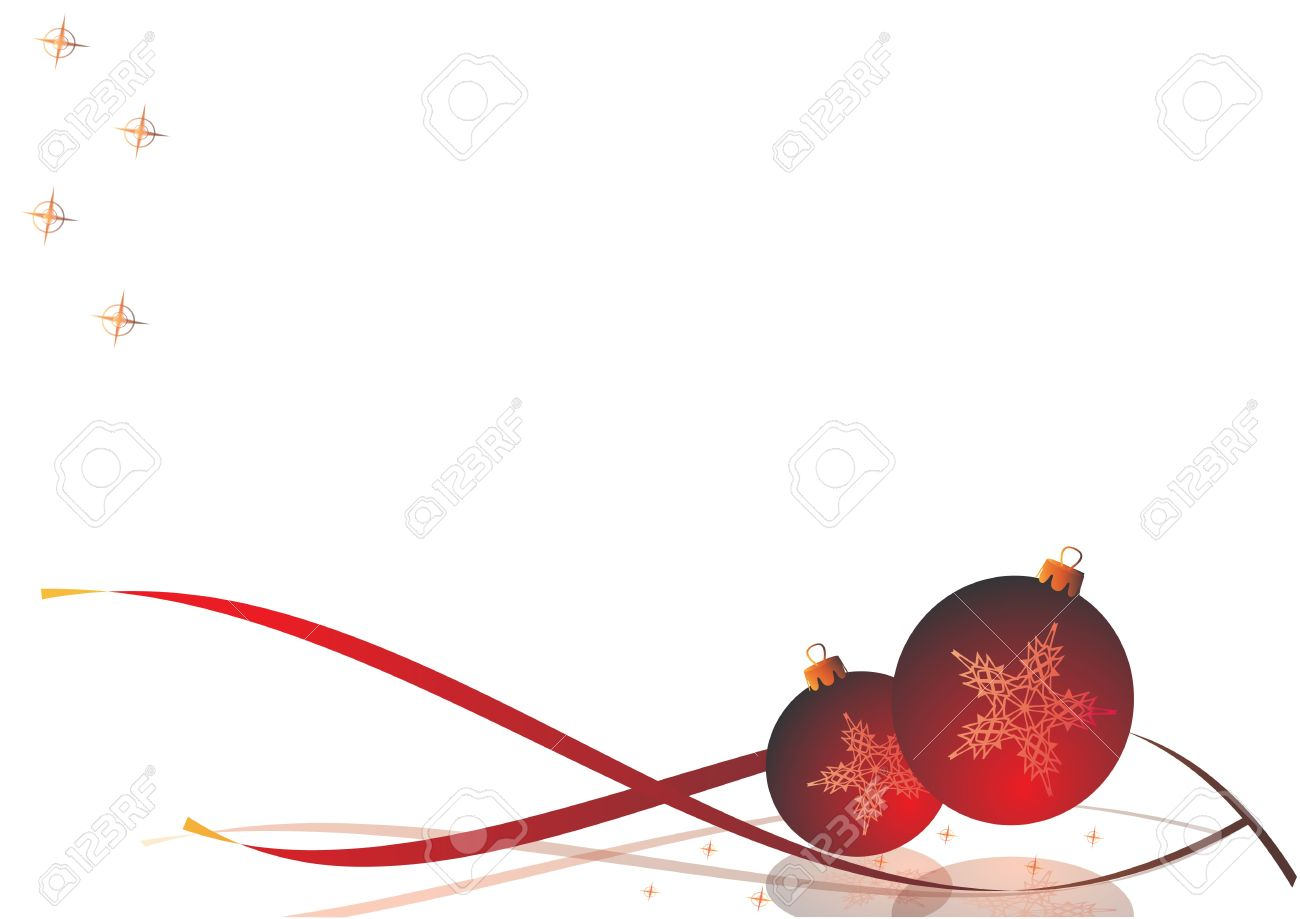 Decorative Christmas Card Christmas Decorations With Ribbons