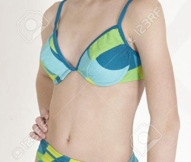 Stock Photo Teen Girl In A Bikini