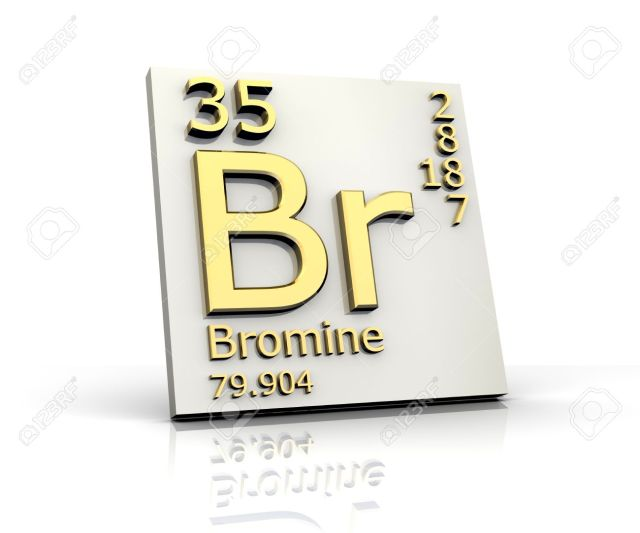 Periodic table br periodic diagrams science bromine form periodic table of elements stock photo picture and urtaz Gallery