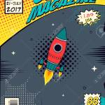 Comic Book Cover Concept Elements Of The Space Royalty Free Cliparts Vectors And Stock Illustration Image 113250525