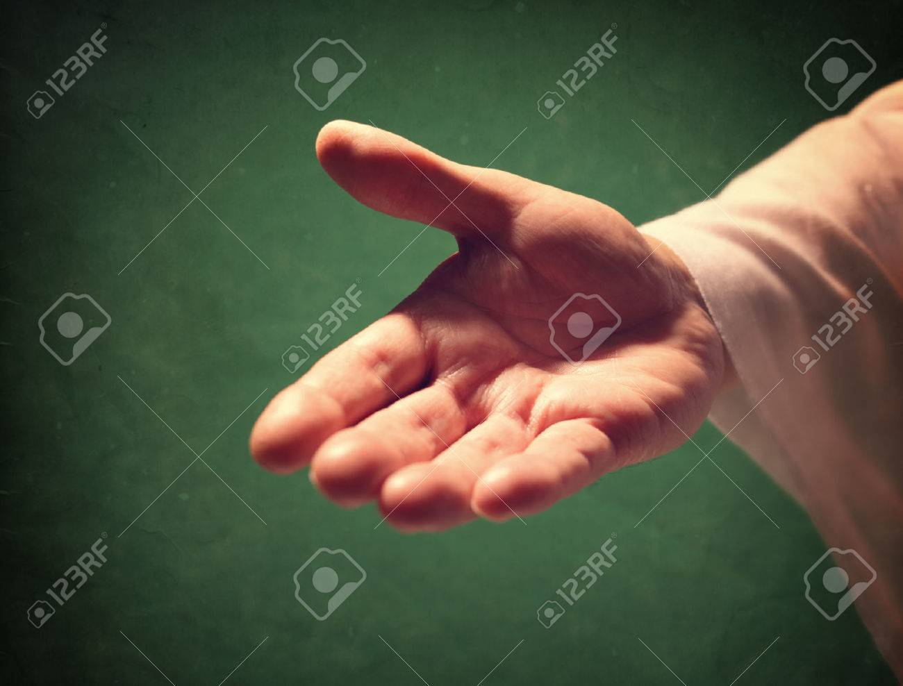 Gods Hand Reaching Out Religion Salvation Forgiveness Assistance And Love Concept Stock