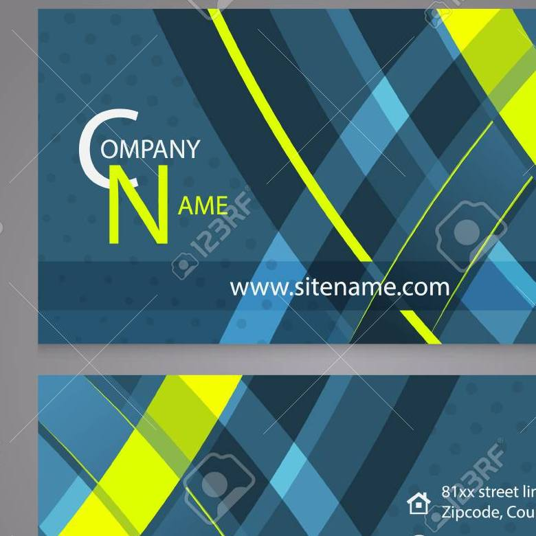 Grabs Full Pixels » Professional Business Card Template Design  Editable Vector     Professional business card template design  Editable vector illustration  for company or individual presentation  Stock