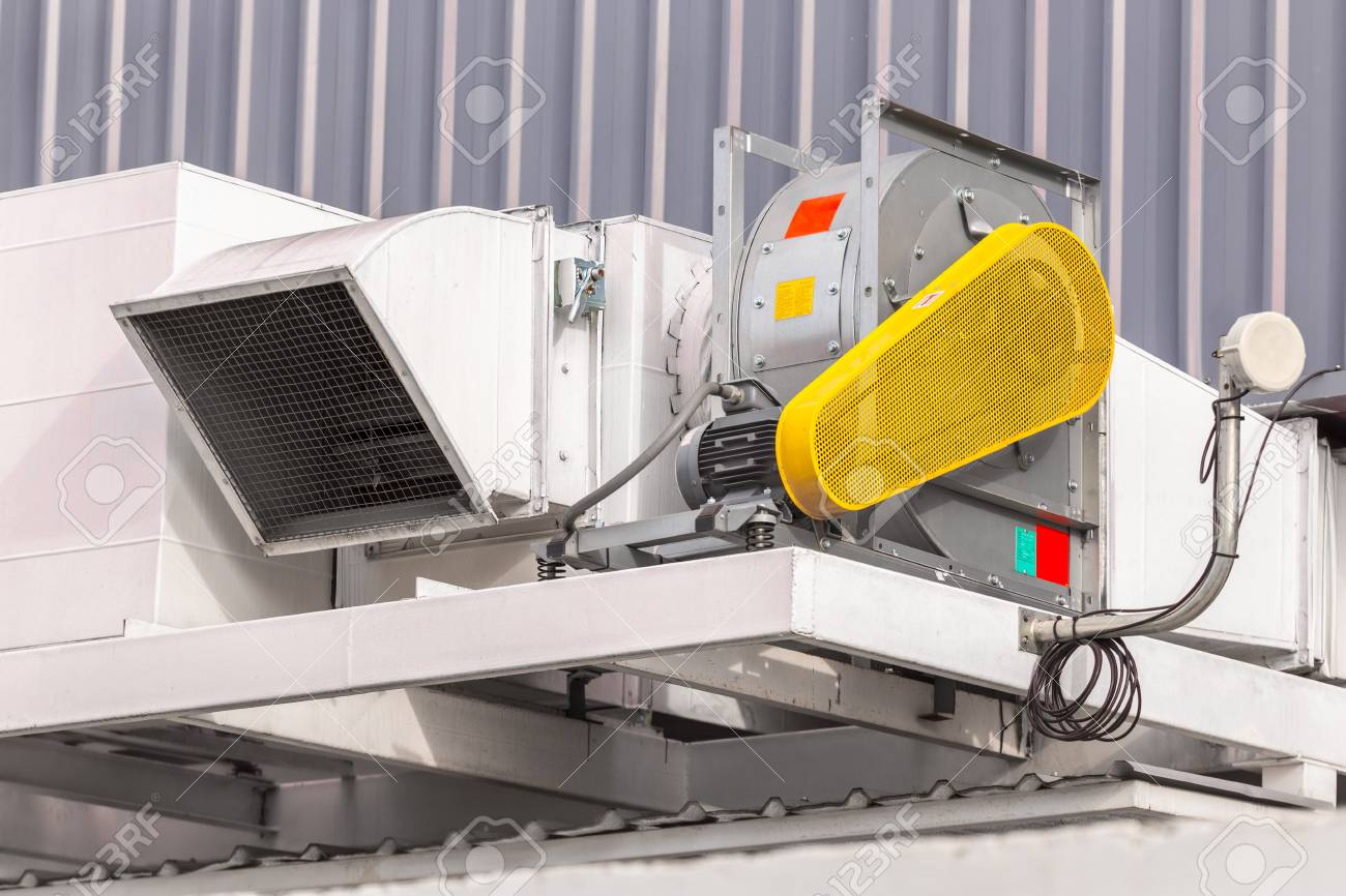 industrial centrifugal fan and exhaust vents of industrial air stock photo picture and royalty free image image 104114555