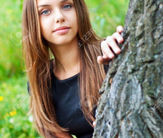 Portrait Of A Beautiful Girl Teen Sixteen Years Stock Photo 15278082