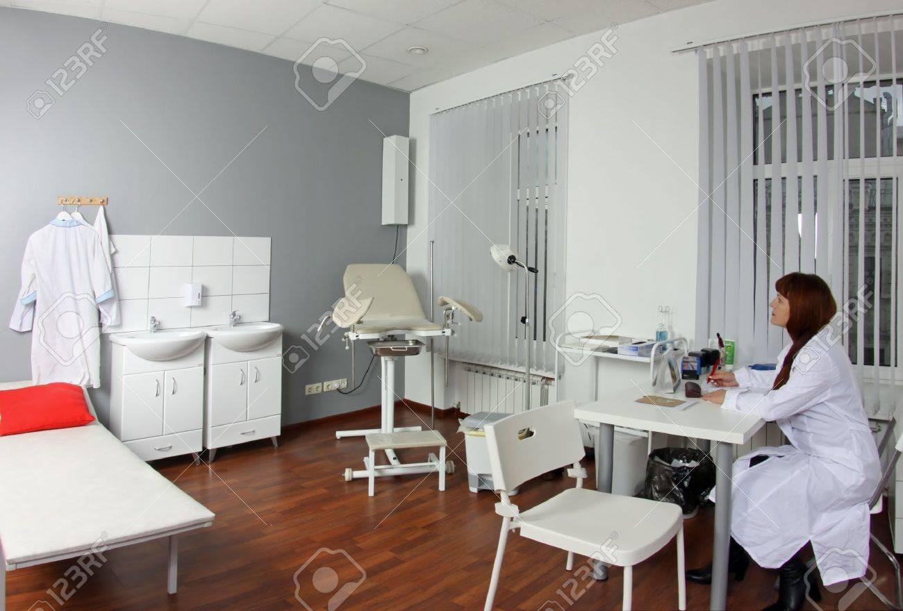 banque d images le medecin au bureau du gynecologue au domicile de maternite