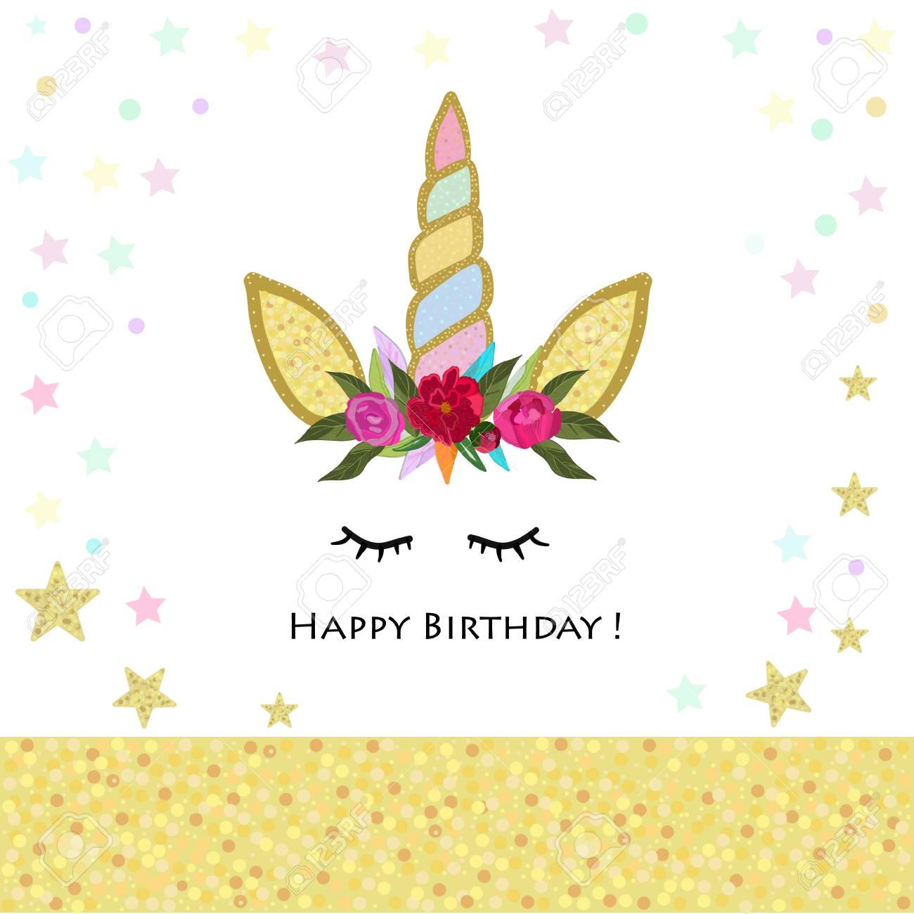 unicorn birthday invitation magical unicorn birthday party shining