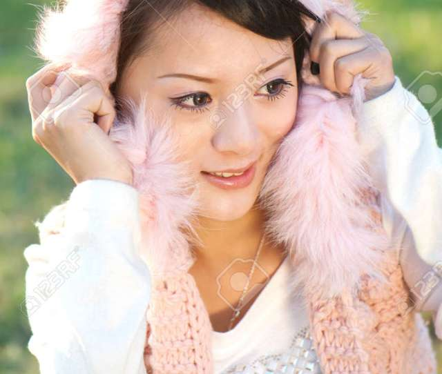 Beautiful Oriental Girls Beautiful Chinese Girl Stock Photo