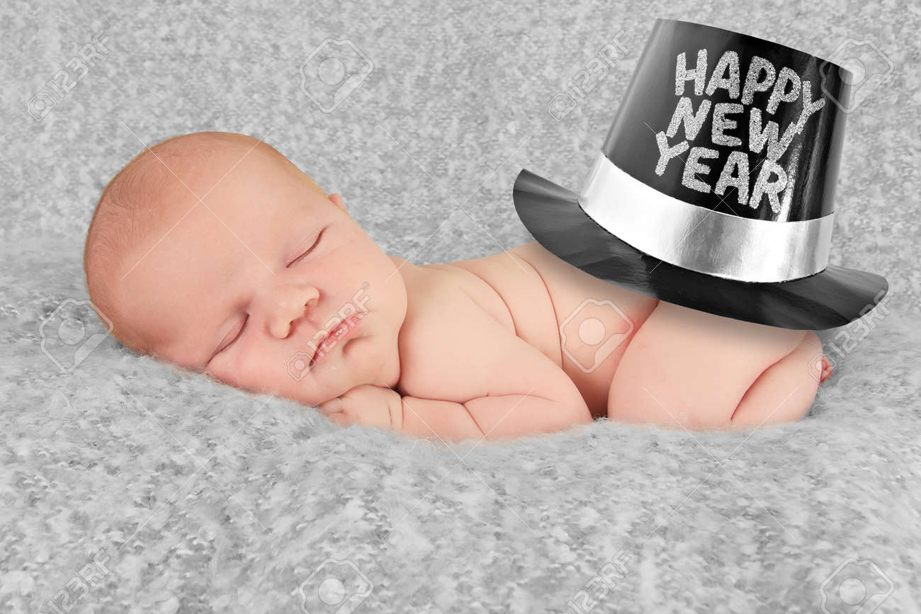 Happy New Year Baby Boy Stock Photo  Picture And Royalty Free Image     Happy New year baby boy Stock Photo   16410848