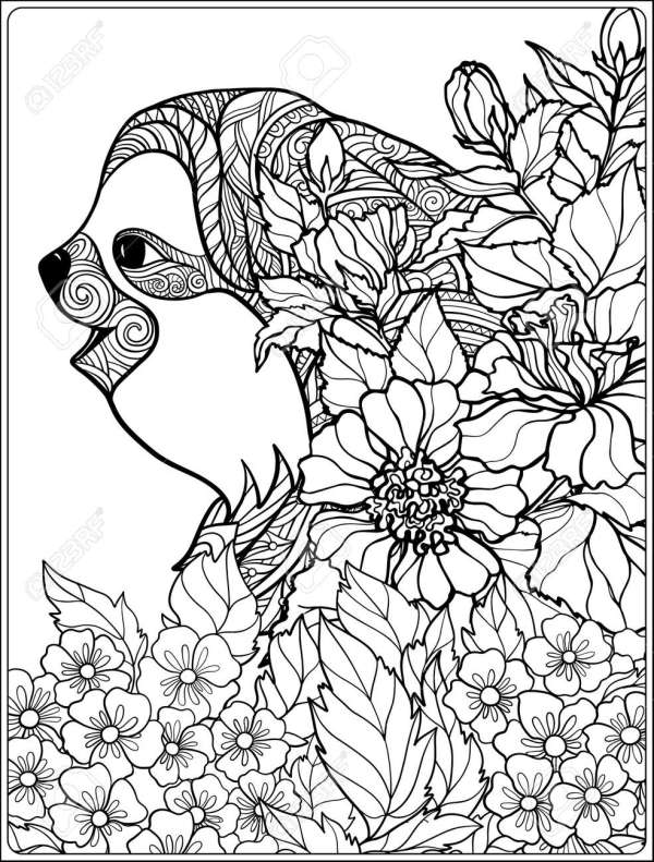 forest coloring page # 62