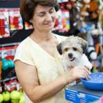 Portrait Of Happy Elderly Woman Visiting Pet Supplies Store With Stock Photo Picture And Royalty Free Image Image 119672413