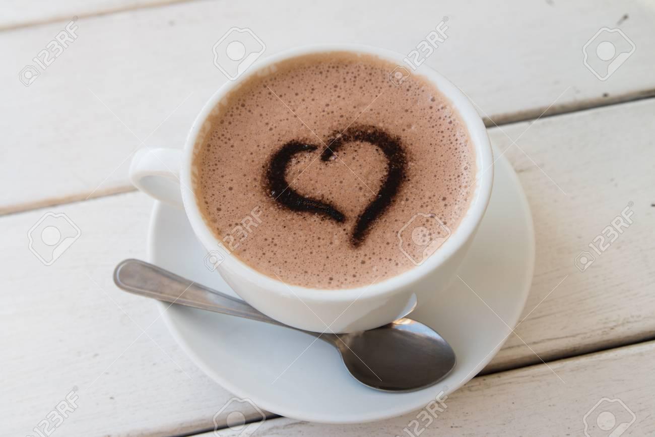 cafe coeur banque d images et photos libres de droits image 51434225