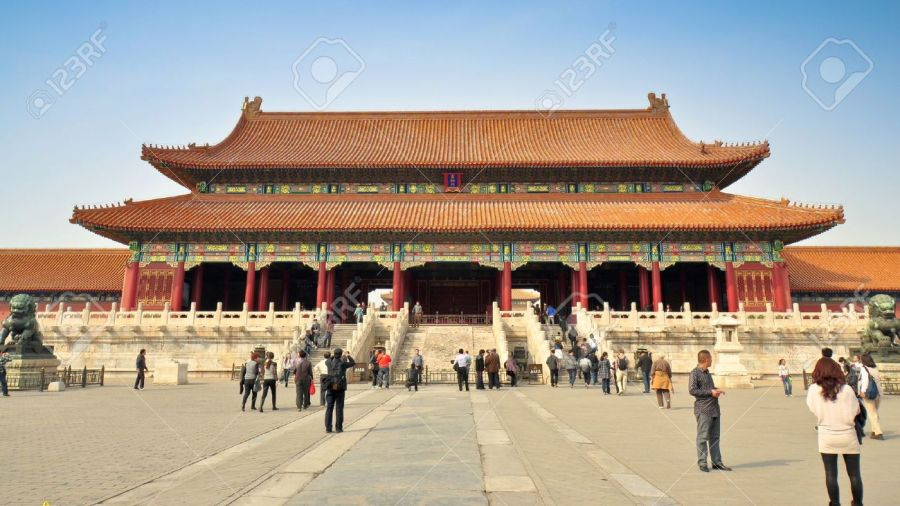 Imperial Palace  Forbidden City  Beijing Stock Photo  Picture And     Imperial Palace  Forbidden City  Beijing Stock Photo   16558334