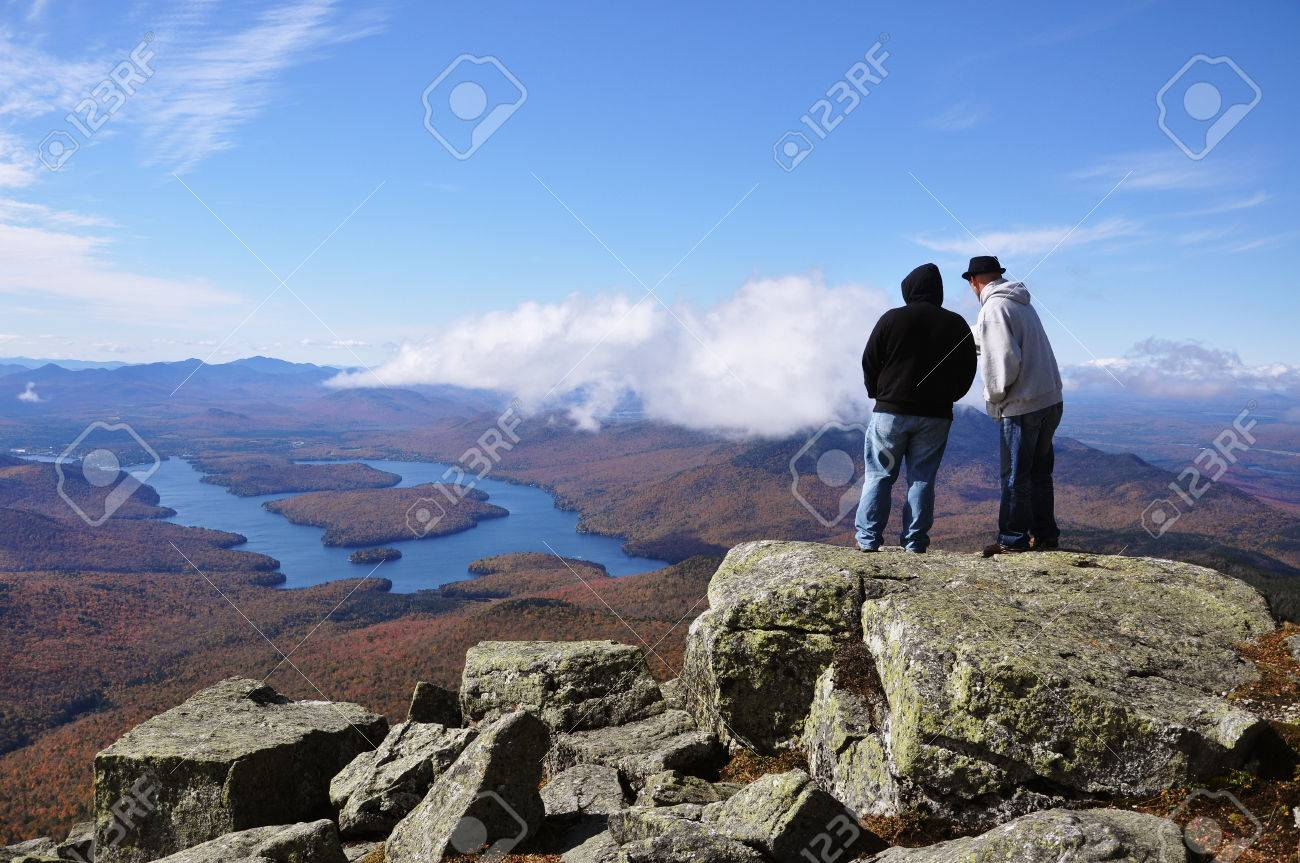 Open april 8 to october 31. Lake Placid View From Top Of Whiteface Mountain In Fall Adirondack Mountains New York State Usa Stock Photo Picture And Royalty Free Image Image 86566674