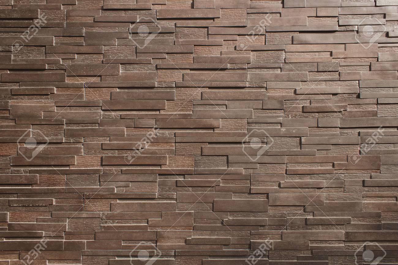 Il Est Mur De Briques Brun Fonce Pour Le Modele Banque D Images Et Photos Libres De Droits Image 41746308