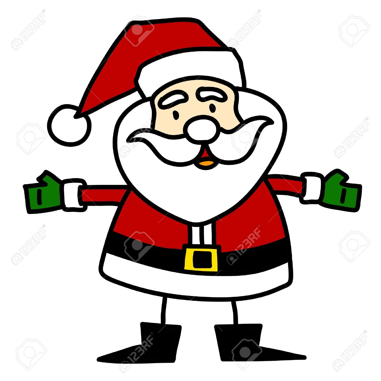 Image result for christmas cartoons santa