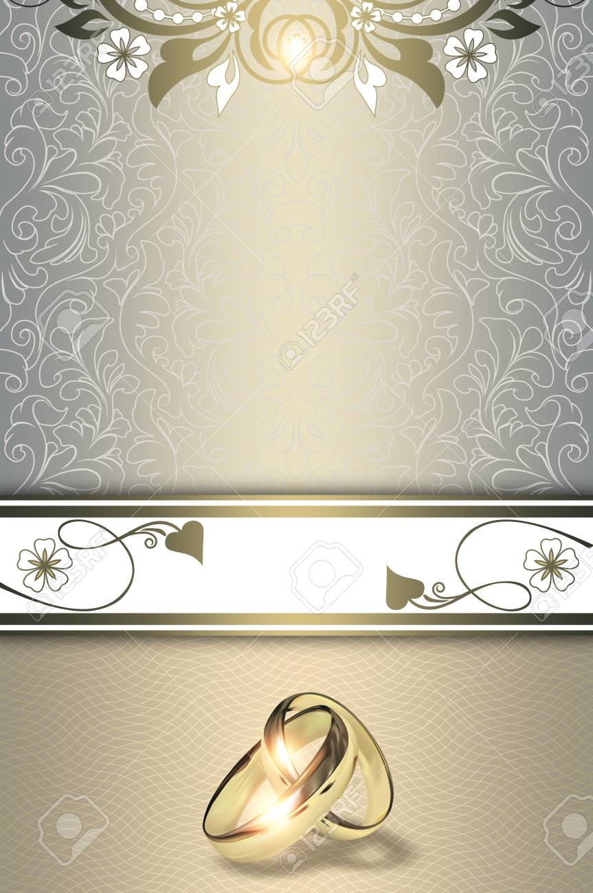 decorative background with elegant floral patterns gold wedding stock photo picture and royalty free image image 65413529