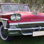 Red Ford Fairlane From The 1950 S Stock Photo Picture And Royalty Free Image Image 25421454