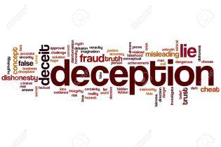 Image result for deception
