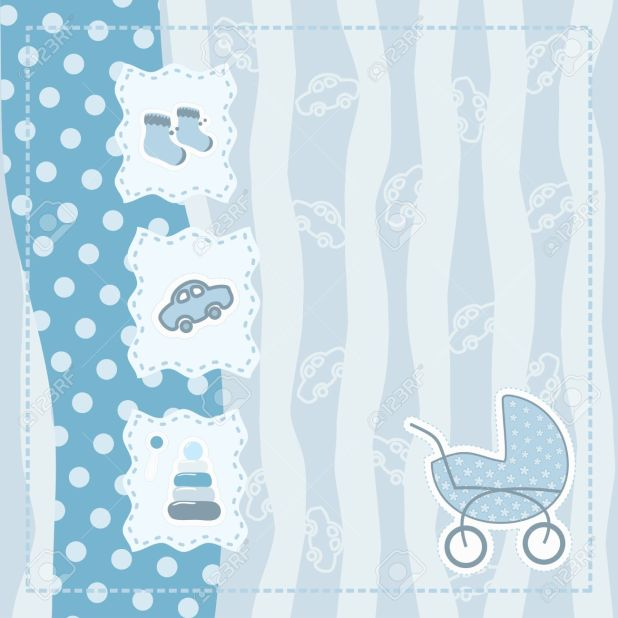 Greeting Card For Baby Boy Royalty Free Cliparts Vectors And Stock Photo Background Images
