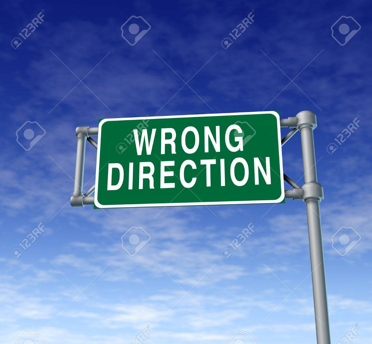 Image result for wrong direction