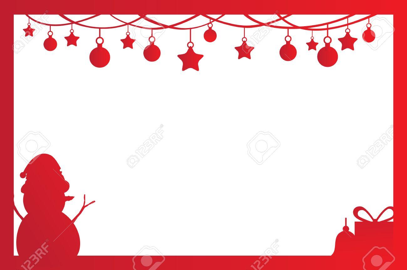cadre de noel pour la decoration de noel en uvre invitation carte postale photo cadeau et autres
