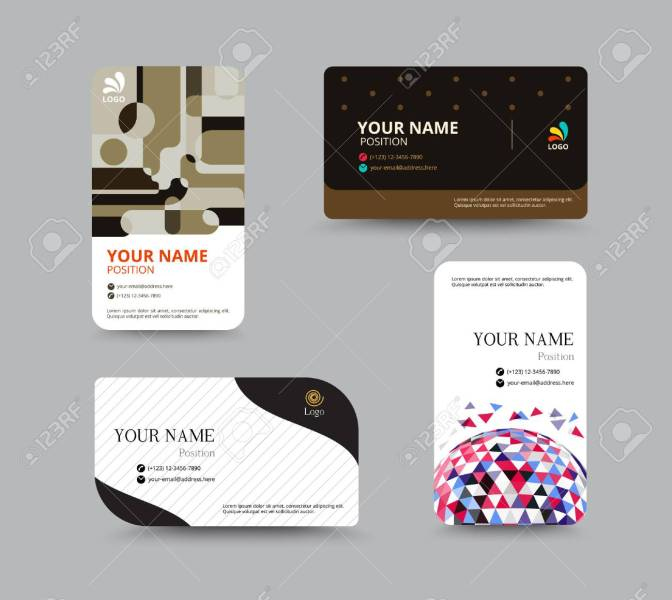 Business Card Template  Business Card Layout Design  Vector     Business card template  business card layout design  vector illustration  Stock Vector   41842323