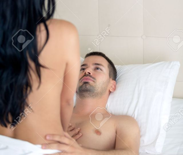 Stock Photo Young Naked Couple Having Passionate Erotic Sex