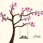 Flower Love Tree Vector Illustration Royalty Free Cliparts Vectors And Stock Illustration Image 14760899