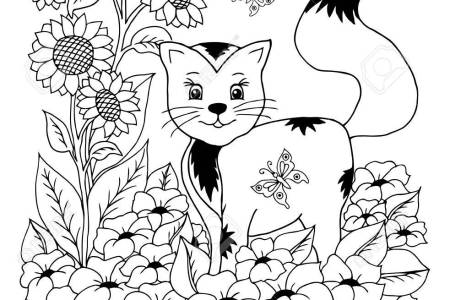 dessin de chaton » [HD Images] Wallpaper For Downloads | Easy Picture