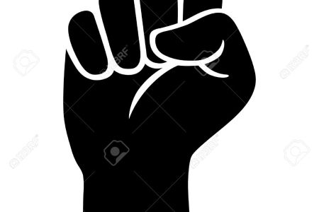 Black Power Fist Vector Full Hd Maps Locations Another World