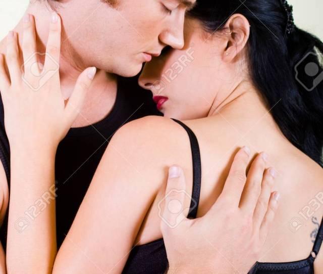Intimate Couple Passionate Love Stock Photo 4419245