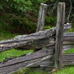 Old Weathered Fence Posts And Rails Stock Photo Picture And Royalty Free Image Image 14019678