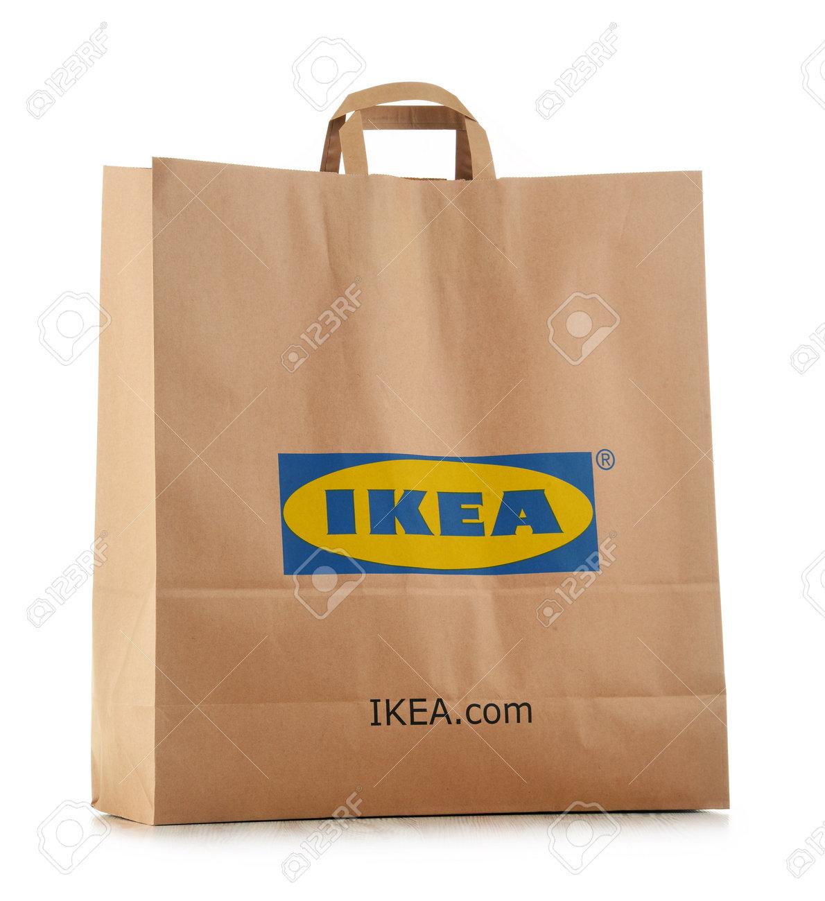 Poznan Polonia 3 Novembre 2016 Fondata In Svezia Nel 1943 Ikea è Il Più Grande Rivenditore Di Mobili Del Mondo Gestisce 384 Negozi In 48