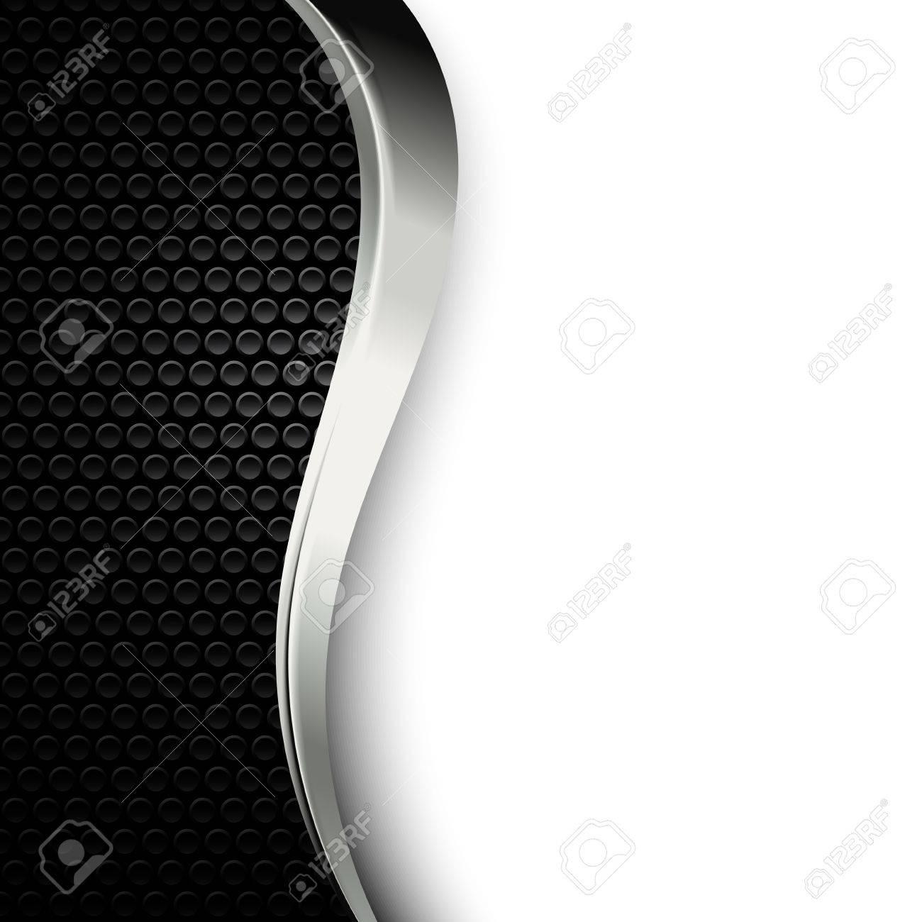 dot metallique perforee texture arriere plan avec chrome fonce bande metallique fond d ecran noir et blanc de style moderne industrielle