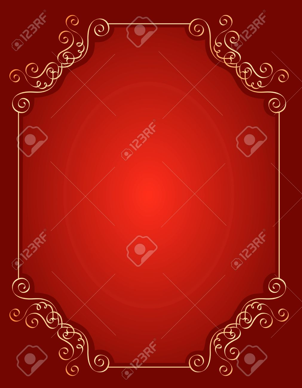 elegant gold and red maroon color blank empty background