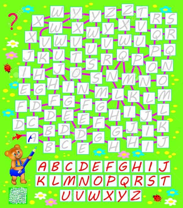 find the alphabet # 13