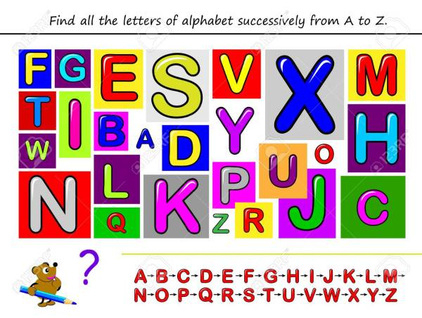 find the alphabet # 76