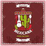 Mexican Food Poster Vector Template Design Restaurant Illustration Royalty Free Cliparts Vectors And Stock Illustration Image 50194063