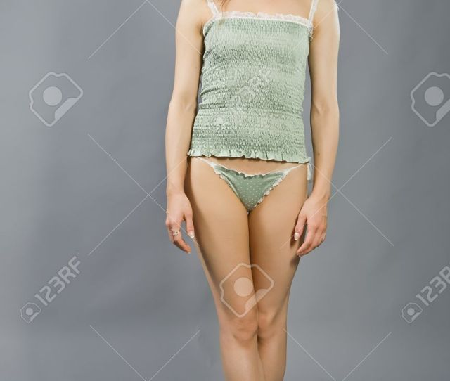Stock Photo The Young Woman In Linen