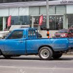 Chiangmai Thailand July 11 2019 Private Old Pickup Car Nissan Stock Photo Picture And Royalty Free Image Image 126847827