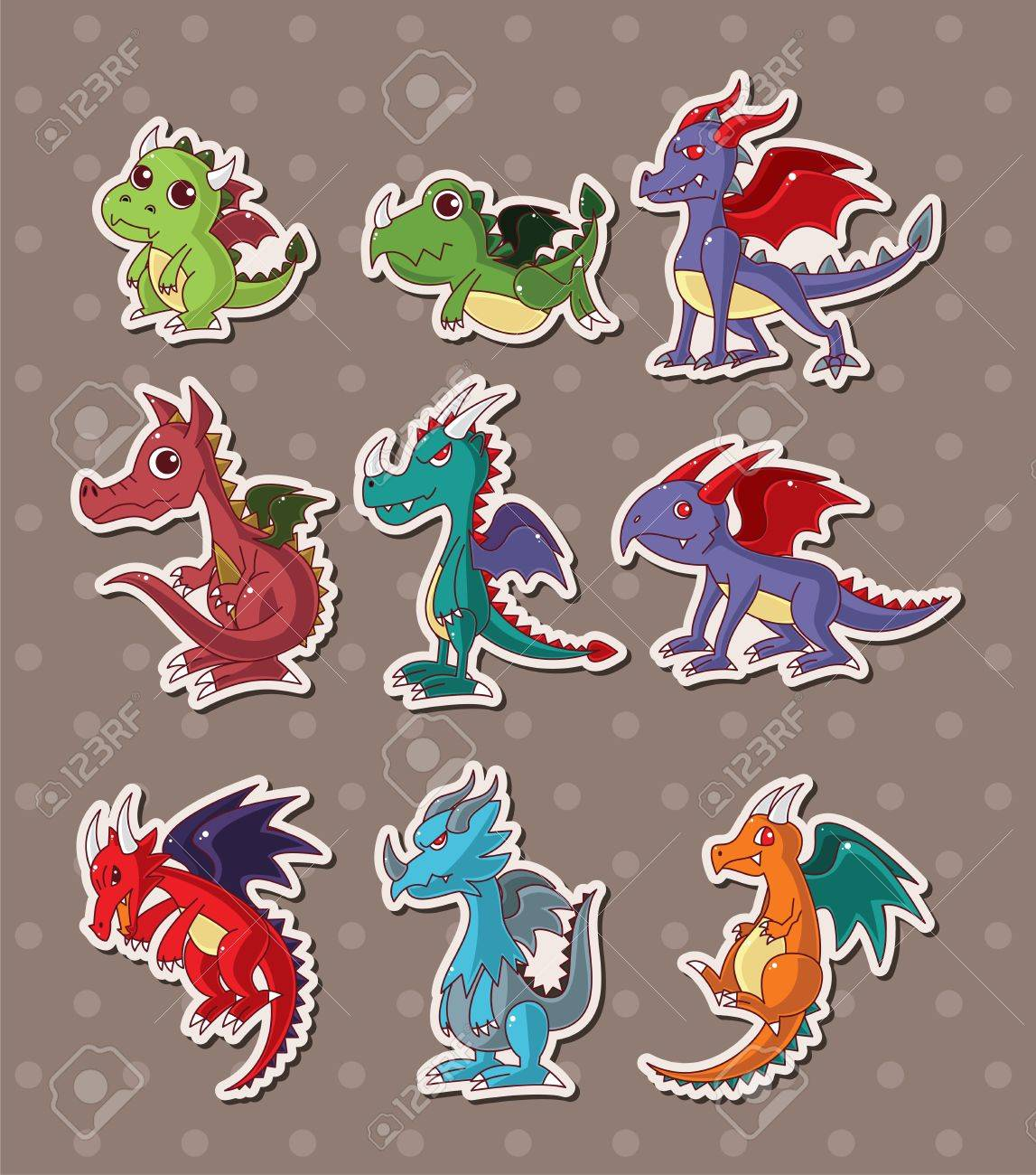 Image result for dragon stickers