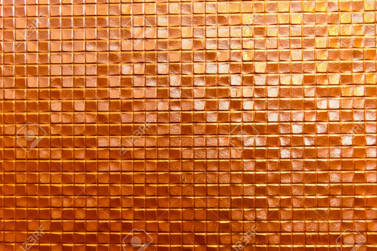 seamless orange wall ceramic tile background