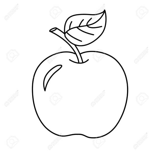 fruit coloring page # 17