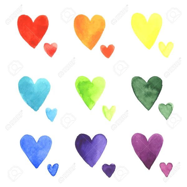 hearts colors # 2