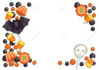 halloween postcard images add text