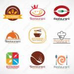 Restaurant Logo And Food Shop Logo Vector Set Design Royalty Free Cliparts Vectors And Stock Illustration Image 65732533