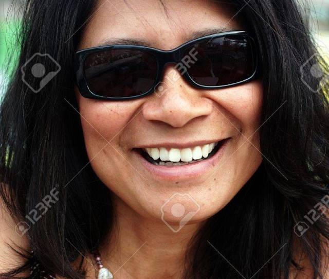 Stock Photo Trendy Mature And Sexy Women In Sunglasses