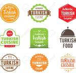 Turkish Cuisine Authentic Traditional Food Typographic Design Royalty Free Cliparts Vectors And Stock Illustration Image 58461809