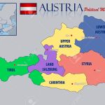 Political Map Of Austria Royalty Free Cliparts Vectors And Stock Illustration Image 50626688